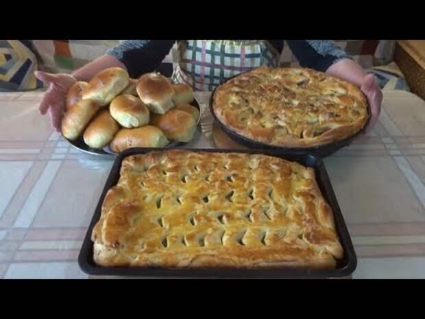 Пироги с мясом от Валентины