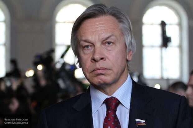 Пушков осадил секретаря СНБО Украины Данилова за слова о государственности России