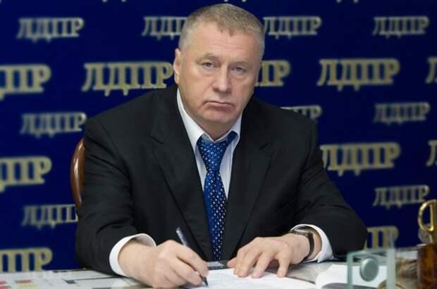 Жириновский выразил соболезнования в связи со смертью Лигачева