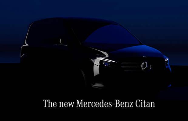 Mercedes назвал дату дебюта нового Citan