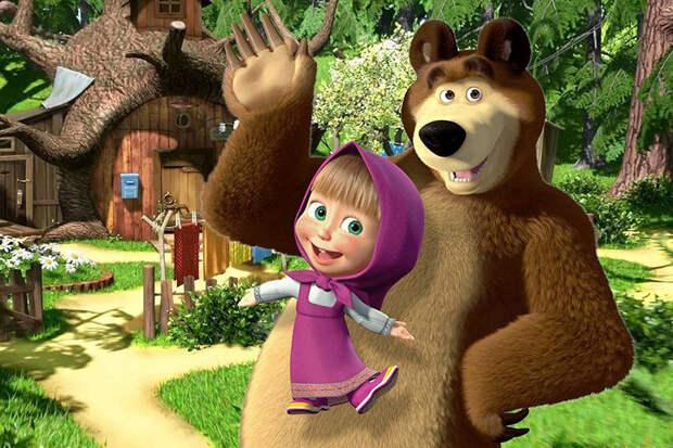 Мультсериал «Маша и Медведь» попал в топ-5 самых популярных детских шоу в мире