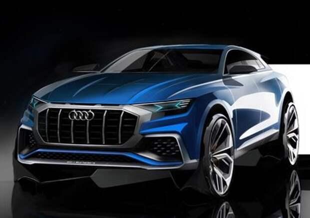 Сила буквы S: кроссовер Audi Q8 получит уникальный дизель