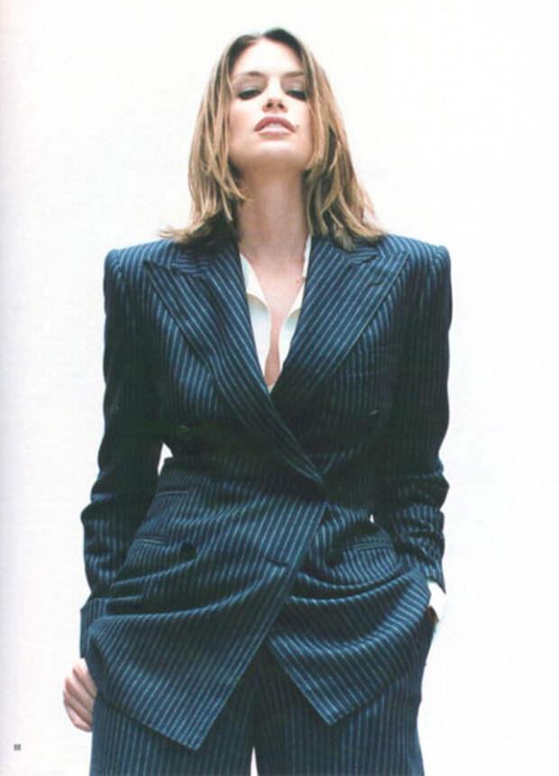 Красотка из 90-ых Синди Кроуфорд