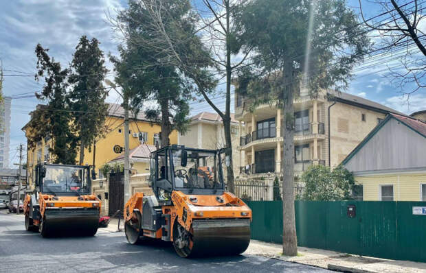 В Сочи отремонтируют более 50 километров улиц