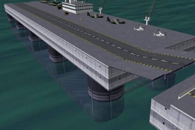 Безопасность Северного морского пути обеспечат плавучие аэродромы
