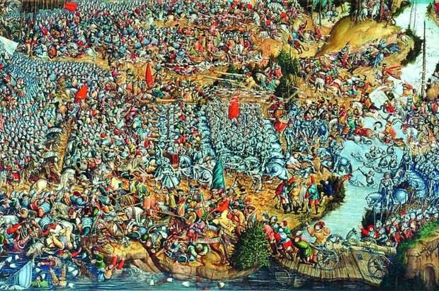 Битва под Оршей. Автор неизвестен. 1524-1530 гг.