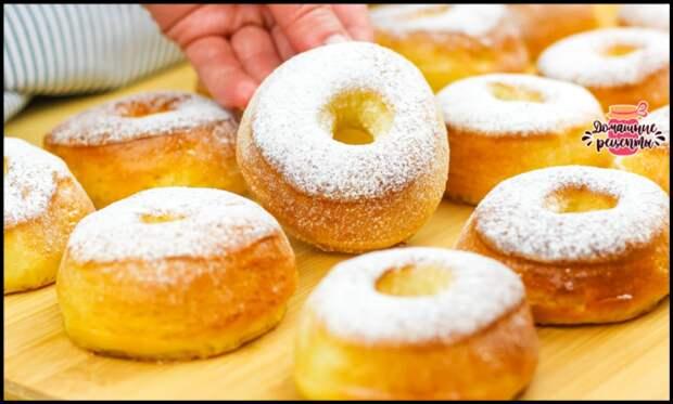 Быстро и без жарки - делюсь рецептом вкуснейших пончиков donuts в духовке!