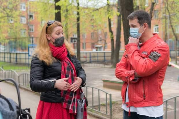 Дмитрий Певцов поддержал требования активистов Алтуфьево о публичной экологической экспертизе зоны застройки. Фото: Юлия Свиткова