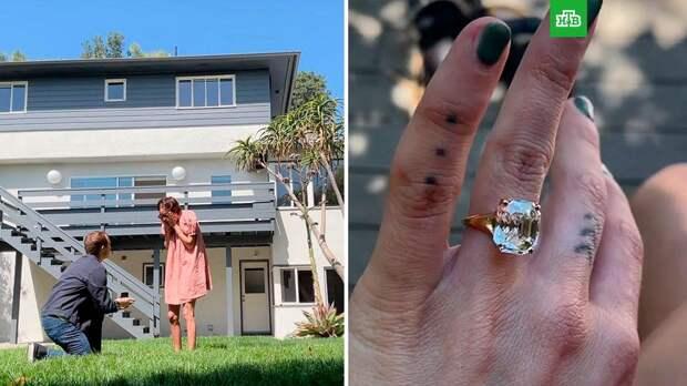 Младшая дочь Брюса Уиллиса и Деми Мур объявила о помолвке