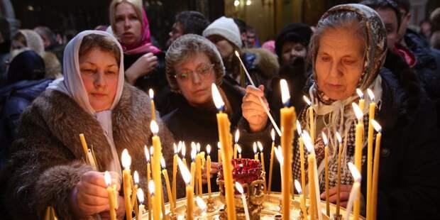 Архиерейское богослужение состоится в храме в Новопдмосковном переулке