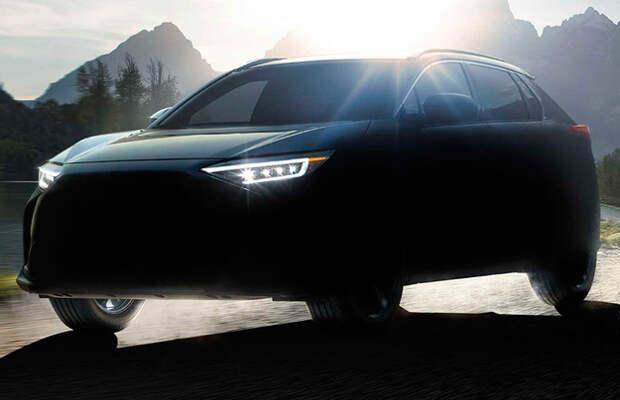 Subaru раскрыла имя электрокроссовера