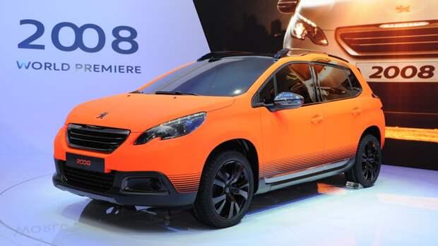 Новую версию кроссовера Peugeot 2008 снабдят 150-сильным мотором для России