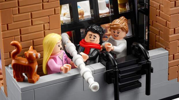 """Компания LEGO представила еще один набор по мотивам """"Друзей"""""""