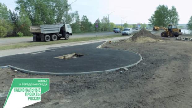 Почти три миллиона рублей выделили на благоустройство набережной в алтайском селе