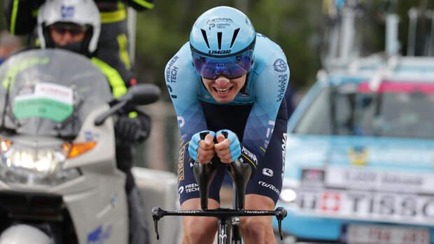 Шанс на подиум: российский велогонщик Власов поднялся на третье место в общем зачёте «Джиро д'Италия»