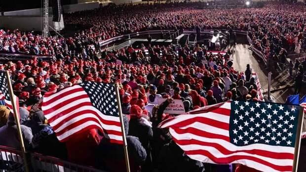 Трамп заявляет о краже миллионов голосов его сторонников. Фото facebook.com/DonaldTrump