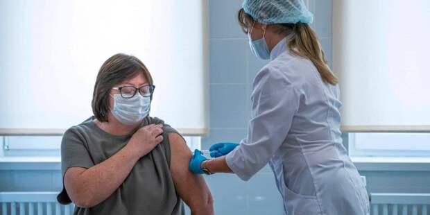 Собянин: Более 2 млн человек сделали прививку от COVID-19 за последний месяц