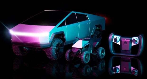 Hot Wheels выпустил игрушечный Tesla Cybertruck