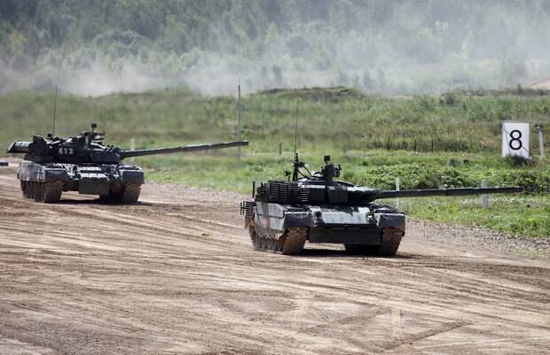 ВС России получили новую партию модернизированных танков Т-80 БВМ
