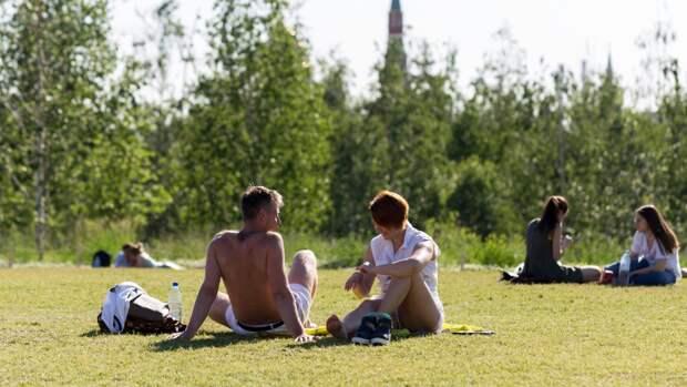 Погода в Москве может установить двойной температурный рекорд 23 июня