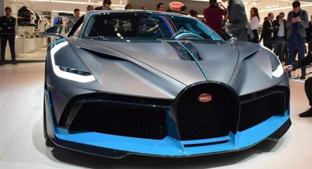 Bugatti представит La Voiture Noire 31 мая 2021 года