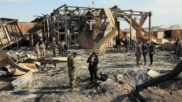 Беспилотник нанес удар по американской военной базе Айн-аль-Асад в Ираке