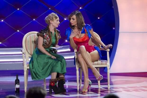 Участницы Comedy Woman успешно выступили в Киеве после концерта в Крыму
