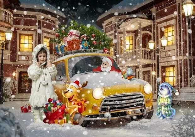 Чудеса в рождественскую ночь или как у моей дочки появился питомец.