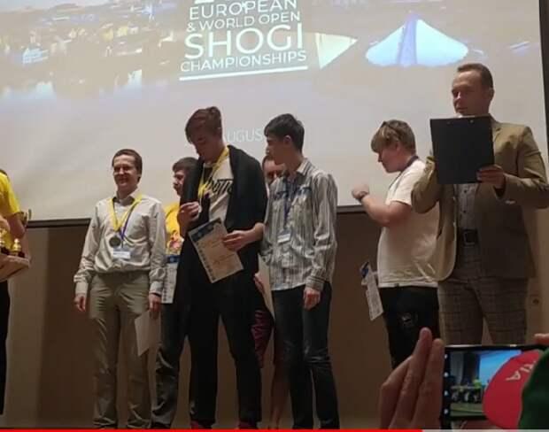 Шахматисты из Строгина стали призёрами Чемпионата Европы