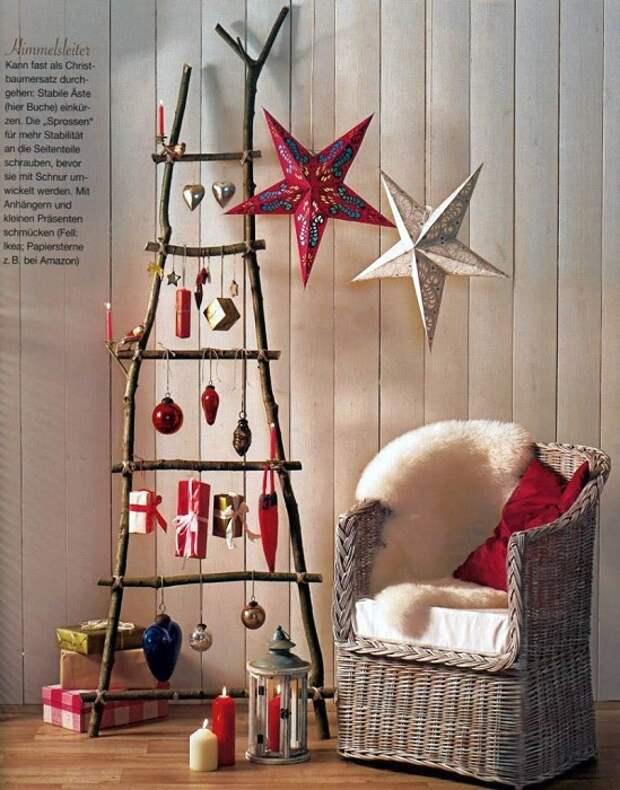 Для того чтобы создать новогоднюю сказку необходимо как минимум украсить комнату.