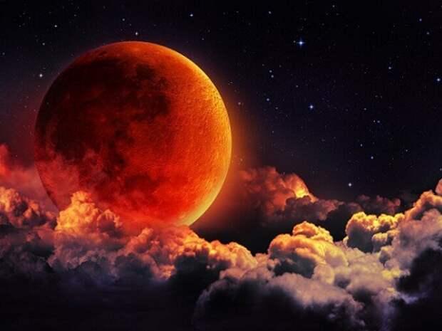Лунное затмение 11 февраля 2017 года