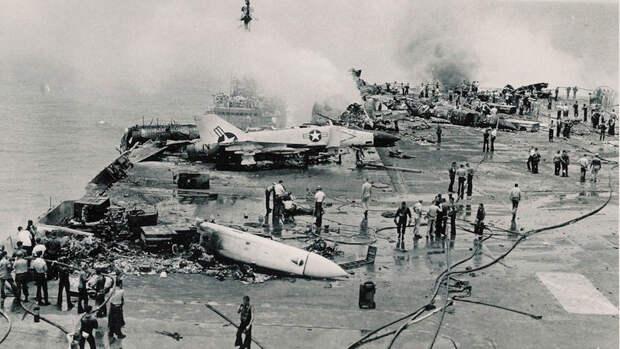 Авианосцы США — корабли, которые делают политику