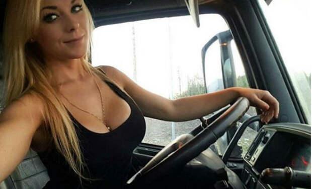 Люди называют дальнобойщицу из Швеции фотомоделью, но она управляет грузовиком не хуже мужчин