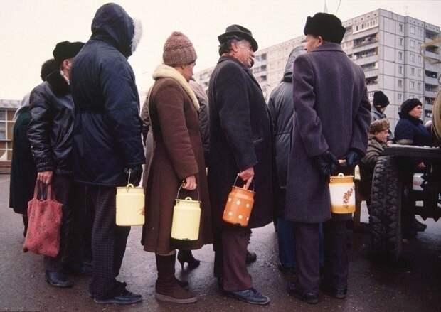 В каждой советской семье был бидон для молока СССР, быт, воспоминания, ностальгия, фото