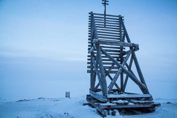 Створные навигационные знаки наЗемле Александры. Фото Андрей Станавов