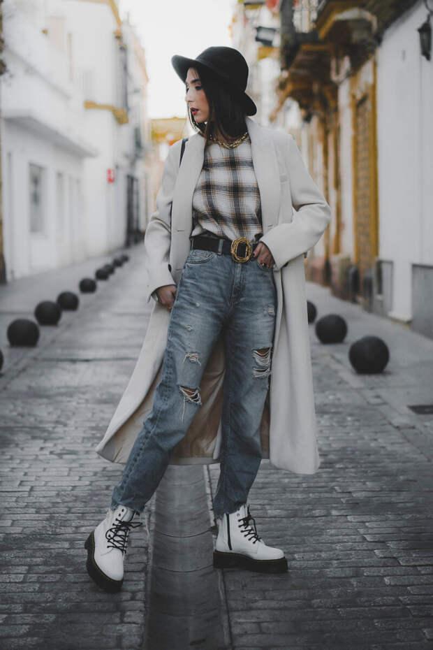 10 примеров с чем носить белые ботинки, чтобы тебя заметили