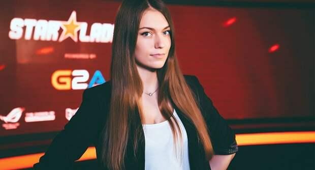 Девушка месяца в киберспорте: Антонина Предко, ведущая студии StarLadderTV
