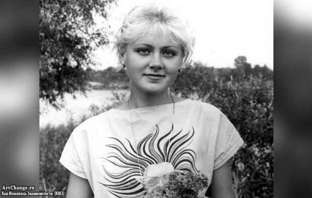 Натали (Наталья Рудина) в молодости, до известности