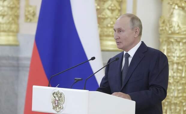 Путин выбрал Совет Федерации