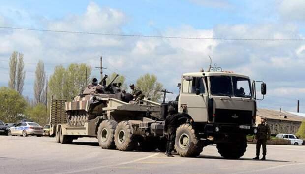Азербайджан подтягивает военную технику к Армении со стороны Нихичевани