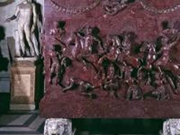История порфирового саркофага св. Елены, написанная ватиканским исследователем