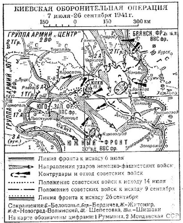 Войска НКВД в «Киевском котле».