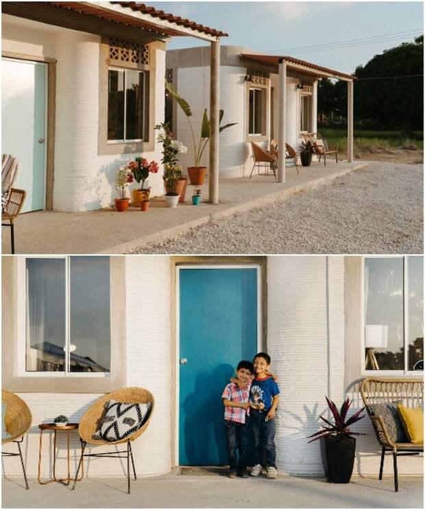 Каждый дом будет иметь свое подворье с огородом и открытой террасой.   Фото: en24.news/ newatlas.com.