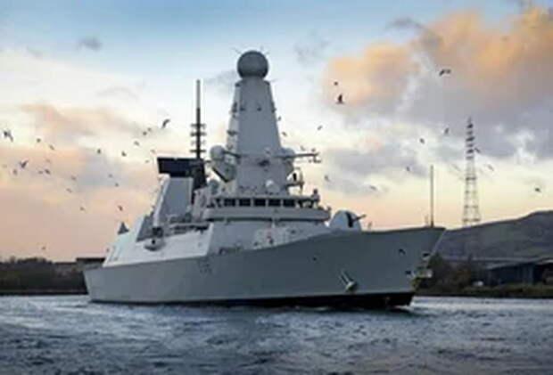 В Лондоне заявили, что расследование потери документов про эсминец Defender займет неделю