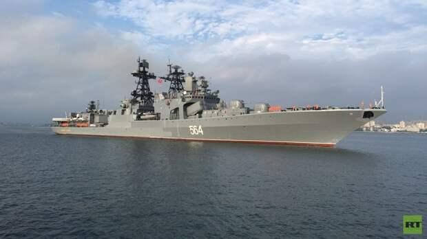 Морское взаимодействие: стартовали совместные учения РФ и КНР