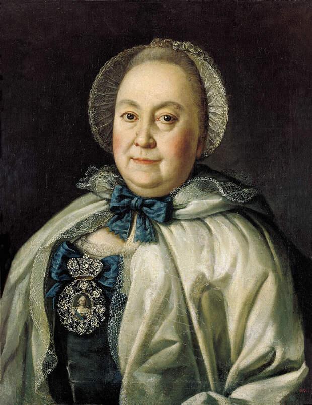 Алексей Петрович Антропов «Портрет Марии Андреевны Румянцевой», 1764 год