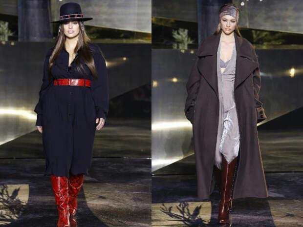 Верхняя одежда для полных осень-зима 2016-2017 H&M
