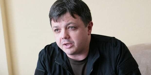 Семенченко поздравил Порошенко с 8 марта