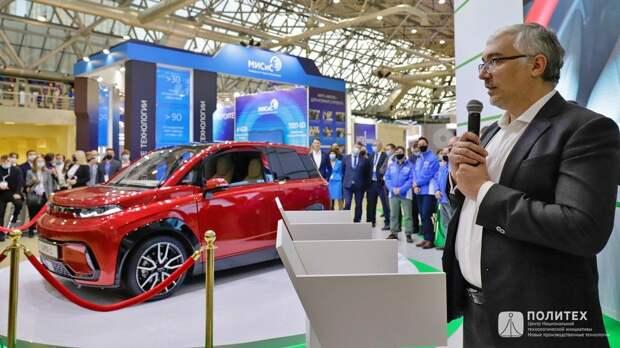 Новая виртуальность: представлен российский электромобиль Кама-1