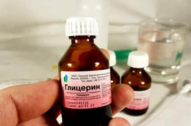 Теплый глицерин хорошо удаляет загрязнения / Фото: temperaturka.com